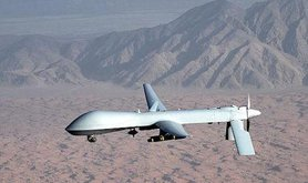 Predator drone. Wikimedia Commons / US Air Force photo/Lt Col Leslie Pratt. Public domain.