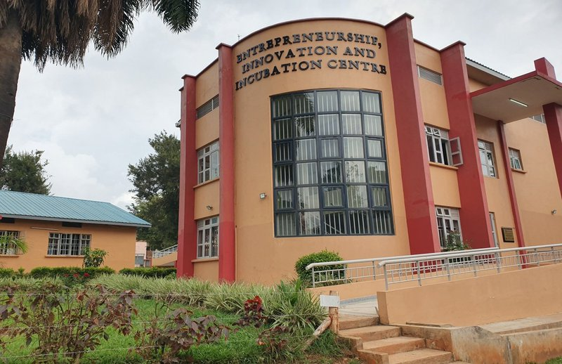 Makerere University Business School's Entrepreneurship, Innovation and Incubation Centre where women in Uganda are trained to start and run businesses
