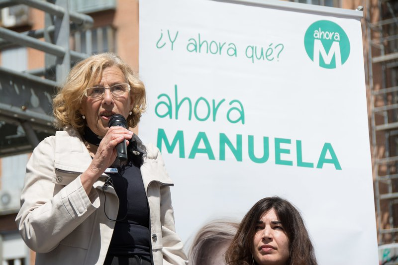 Manuela Carmena (Madrid) campaigning in April 2019.jpg