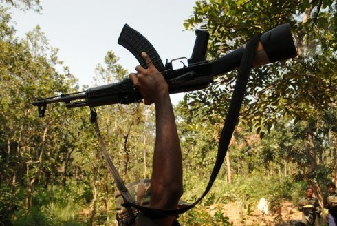 Gun lifted by Maoist in Dantewada district, Chattisgarh