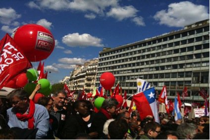 Melenchon May Day