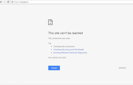 Azerbaijan's blocking of websites is a sign of further