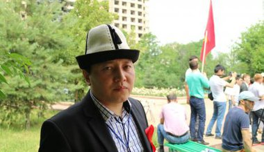 Zhenish Moldokmatov, leader of Kyrgyzstan's Kalys movement