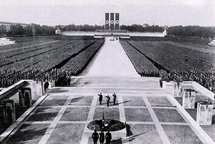 Nazi Party rally grounds, 1934.