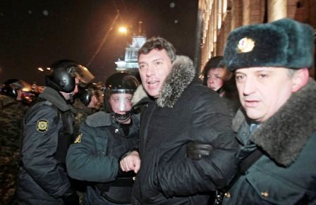 Nemstov arrested