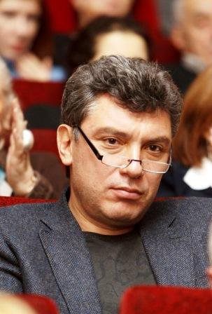 Nemtsov Gaidar meeting