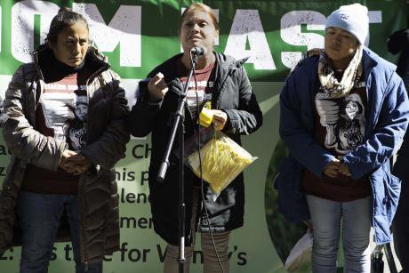 Farmworkers fast in New York City.
