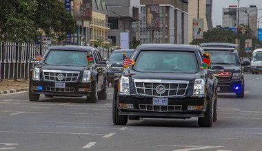 President Obama arrives in Kenya. Boniface Muthoni/Demotix. All rights reserved.