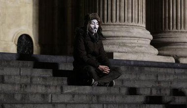 Occupy London protester. Yui Mok/PA Archive/Press Association Images. All rights reserved.