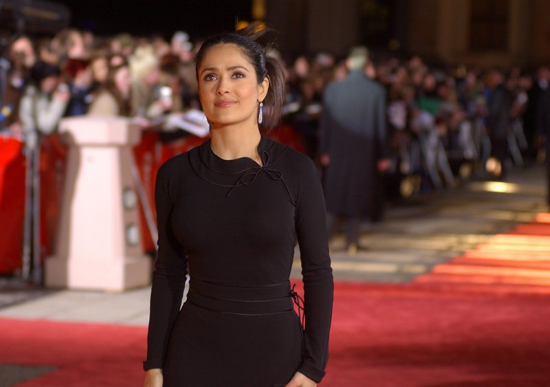 Salma Hayek, star of 'Frida', 2003