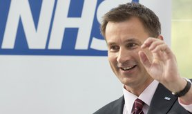 Jeremy Hunt NHS logo
