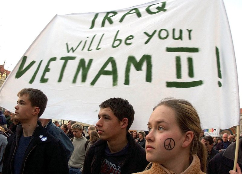 Anti-war Iraq protests 2003