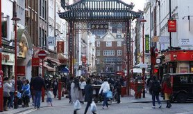London's Chinatown. Jonathan Brady/PA Archive/Press Association Images. All rights reserved.
