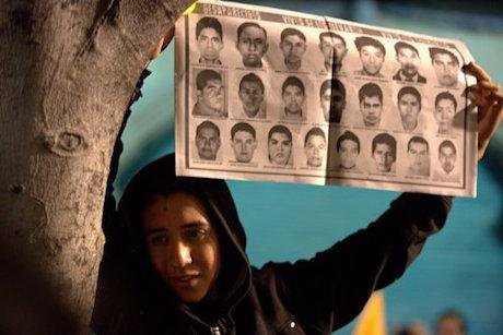 Protest for the 'Ayotzinapa 43'. Eduardo Verdugo/AP/Press Association Images. All rights reserved.