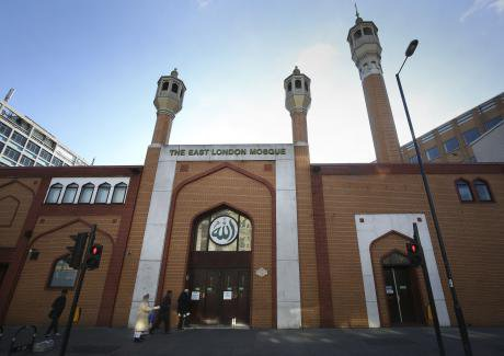 The East London Mosque.
