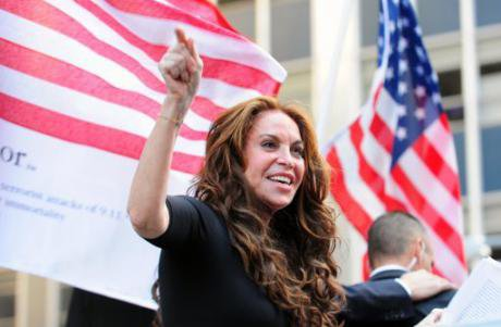 Pamela Geller, president of the American Freedom Defense Initiative, an Islamophobic pressure group. (Bryan Smith, PA Images)