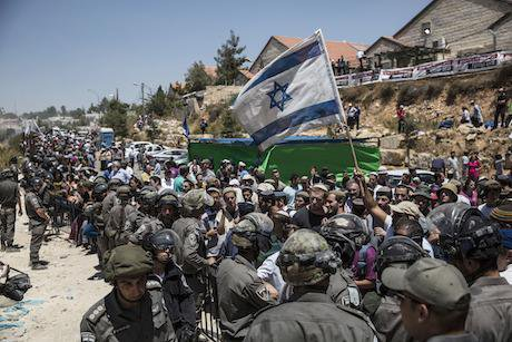 Jewish settlement of Beit El. Tsafrir Abayov/AP/Press Association Images. All rights reserved.