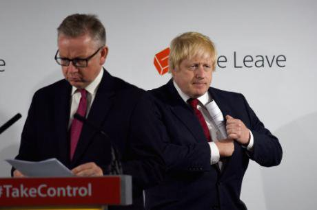 A time for new thinking? Michael Gove and Boris Johnson. Mary Turner/PA Wire/Press Association Images. All rights reserved.