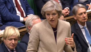 UK prime minister Theresa May. PA Wire/PA Images. All rights reserved.