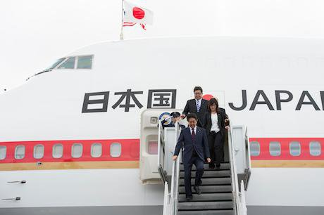 Japanese prime minister Shinzo Abe, 2016. Mcs1 Jay M. Chu Zuma Press/PA Images. All rights reserved.