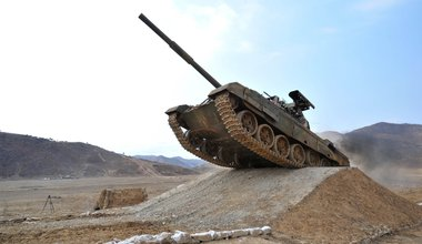 North Korean tank