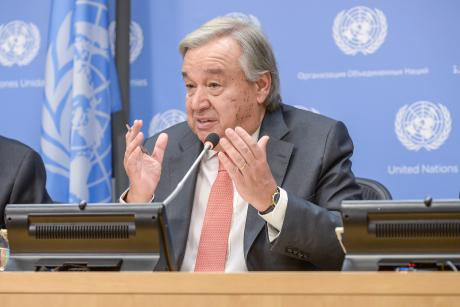 United Nations Secretary-General Antonio Guterres in September 2017.