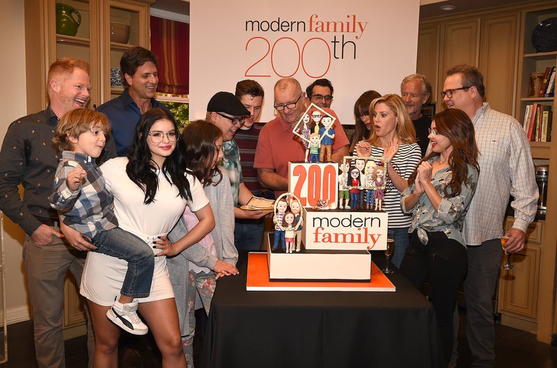 The creators and cast of 'Modern Family' in 2017
