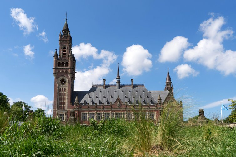 The Peace Palace, seat of the International Court of Justice, the Hague, Netherlands