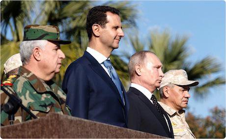Syrian Presidency/Xinhua News Agency/Press Association Images. All rights reserved.
