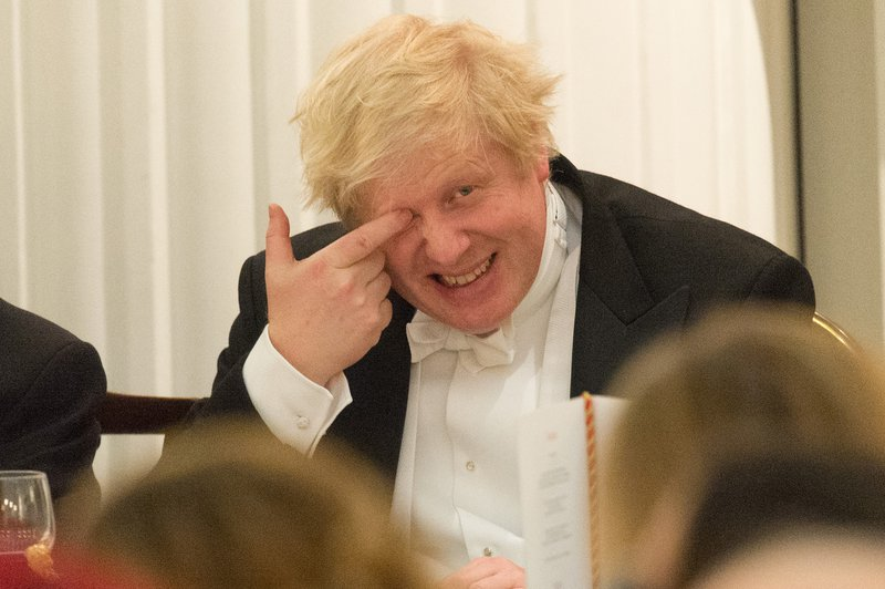 Boris Johnson, Mansion House, 2018.