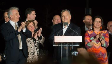 Viktor Orbán celebrates election win in 2018
