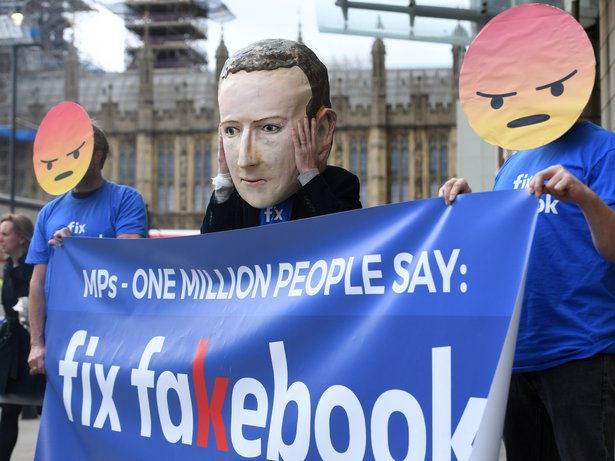 'Fix Fakebook' protest