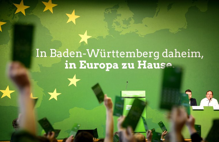Green Party elect candidates for the federal list of the European elections in 2019.