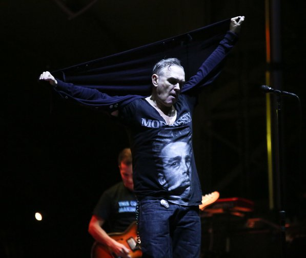 December 8, 2018 - Morrissey of the legendary English rock group The Smiths headlines Tropicalia Fest in Southern California.