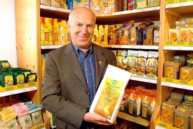 Founder and owner of natural food-producer Rapunzel-Naturkost AG, 2004.