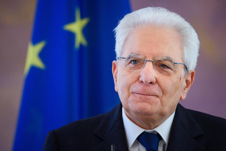 Sergio Mattarella, President of the Italian Republic.