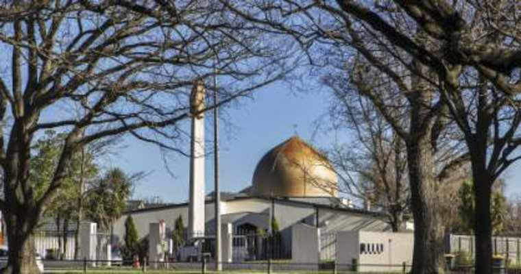Image from the Masjid Al Noor mosque website, Christchurch, New Zealand.