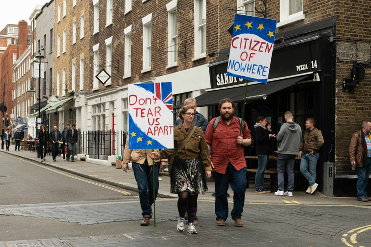 Anti-Brexit demonstration in London, 23 March 2019