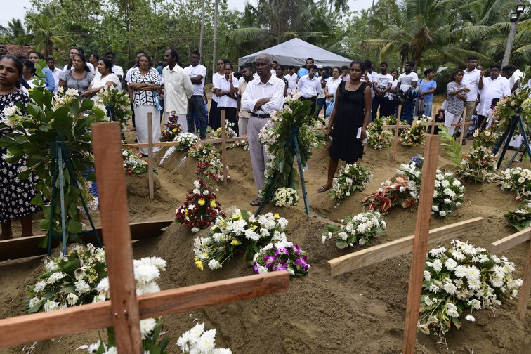 Sri Lanka mourns victims of Easter Sunday bombings.