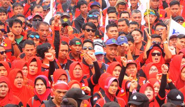 Indonesia May day 2019
