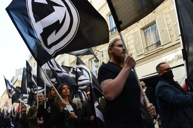 Action Française demonstration