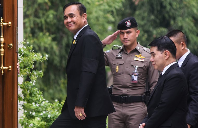 Junta leader Prayut Chan-o-cha secured a new term as Prime Minister after a parliamentary vote last week.