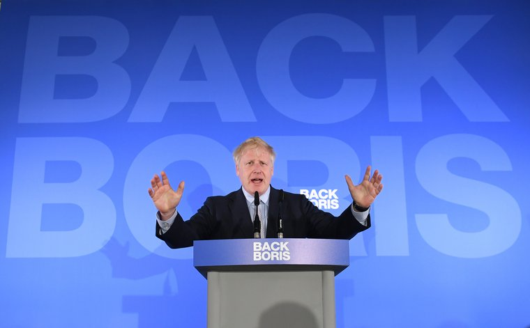 Boris Johnson launches his campaign.