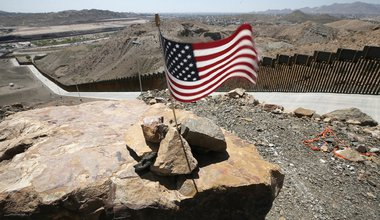 US-Mexican border wall..