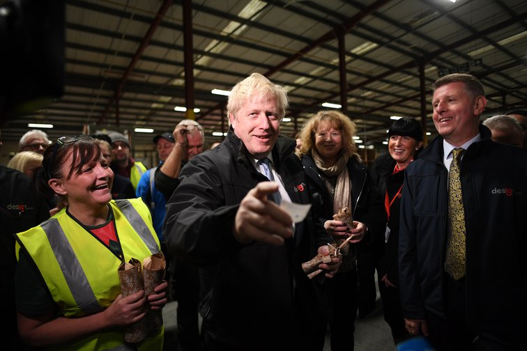 Boris Johnson, December 2019