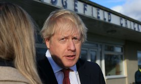 Boris Johnson in Sedgefield