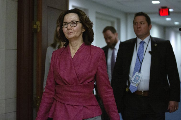 Gina Haspel, Director, CIA attends a closed door briefing on Iran, January 8, 2020.
