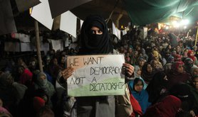 Protest Against CAA And NRC In New Delhi