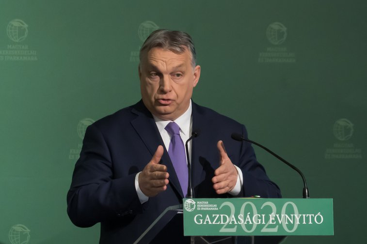 Hungary's Prime Minister Viktor Orban on March 10, 2020.