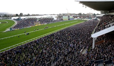 Crowds on day four of the Cheltenham Festival